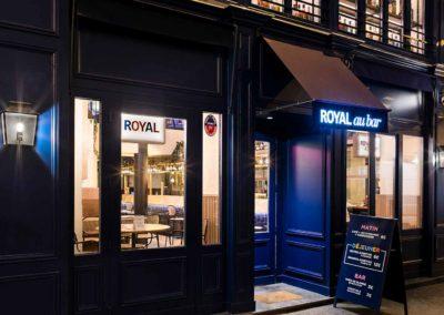 Hôtel Royal Madeleine - Façade bar