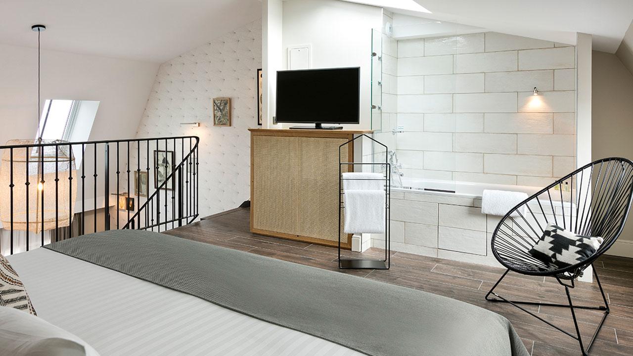 HOTEL ROYAL MADELEINE - Chambre Duplex (1)
