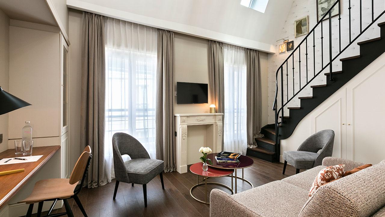 HOTEL ROYAL MADELEINE - Chambre Duplex (3)