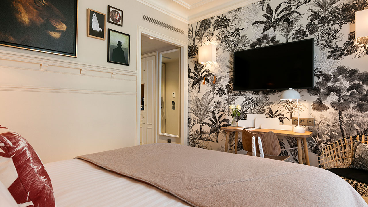 HOTEL ROYAL MADELEINE - Chambre Single (1)