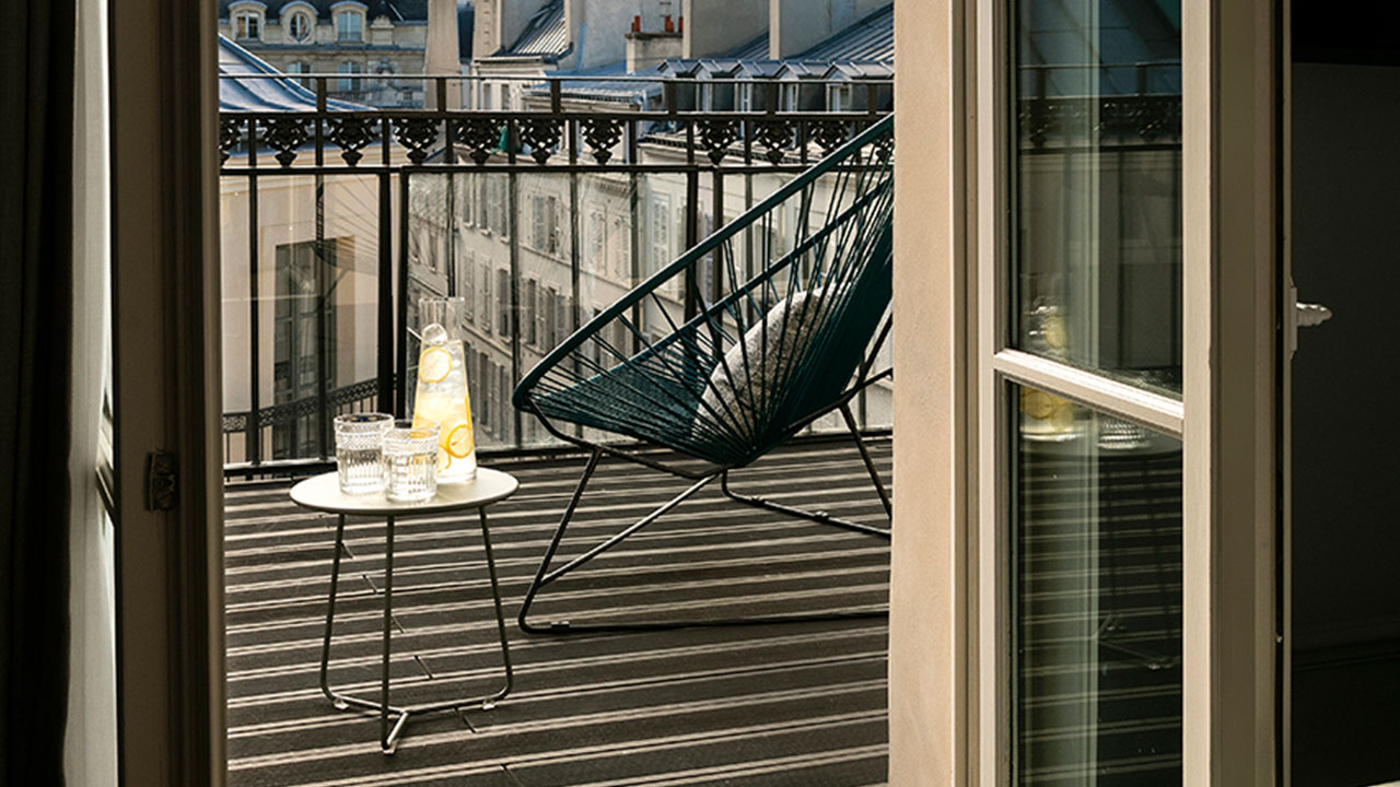 HOTEL ROYAL MADELEINE - Terrasse (1)