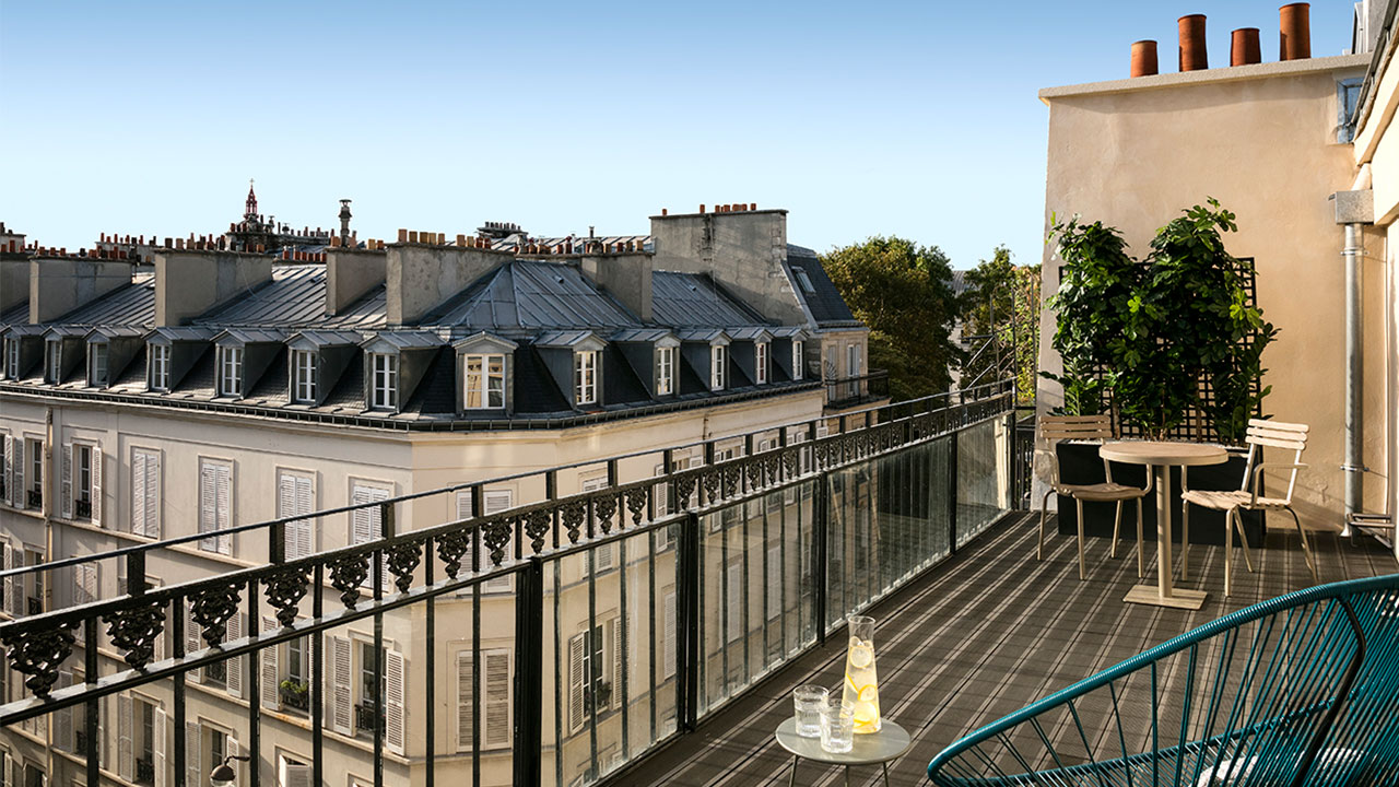 HOTEL ROYAL MADELEINE - Terrasse (2)