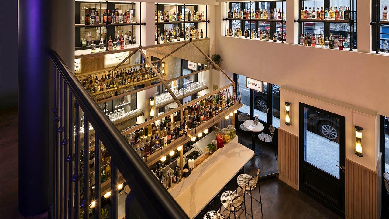 Hôtel Royal Madeleine - Bar depuis mezzanine