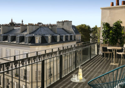 Hôtel Royal Madeleine - Chambre Terrasse